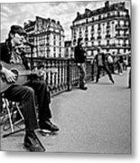 Dancing In The Streets Of Paris / Paris Metal Print