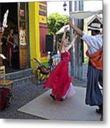 Dancing In The Streets Metal Print