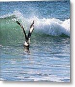 Dancing On The Waves Metal Print