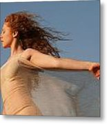Dancing On The Wind Metal Print