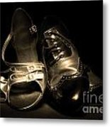 Dancing Pair Metal Print