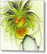 Dancing Petals Metal Print