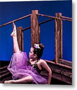 Dancing Princess Metal Print