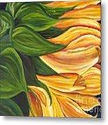 Dancing Sunflower Metal Print