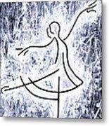 Dancing Swan Metal Print by Kamil Swiatek