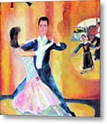 Dancing Through Time Metal Print