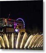 Dancing Waters 4 Metal Print