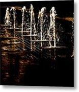 Dancing Waters Metal Print