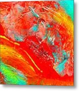 Dancing With Colors Metal Print
