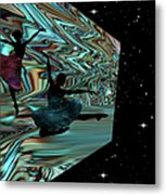 Dancing With The Stars-featured In Harmony And Happiness Group Metal Print