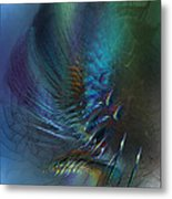 Dancing With The Wind-abstract Art Metal Print