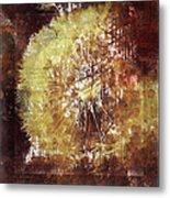 Dandelion Wild Life Metal Print