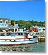 Danfords At Port Jeff Li Metal Print