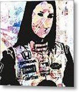 Danica 10 Metal Print
