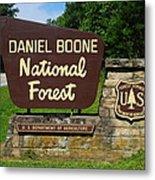 Daniel Boone Metal Print