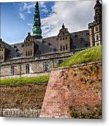 Danish Castle Kronborg Metal Print