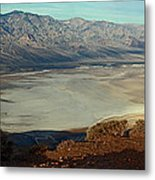 Dante's View Panorama Metal Print