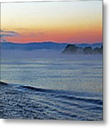 Danube Dawn Metal Print