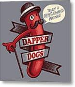 Dapperdogs Metal Print