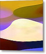 Dappled Light Panoramic 4 Metal Print