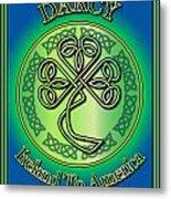 Darcy Ireland To America Metal Print