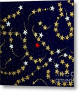 Dare To Be Different - Stars - Blazing Trails Metal Print