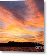 Darien Sunset Metal Print