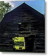 Dark Barn Metal Print