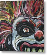 Dark Clown Metal Print
