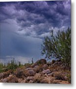 Dark Desert Skies  Metal Print