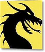 Dark Dragon Metal Print