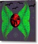 Dark Fallen Angel Metal Print