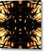 Dark Flame Of Nature Metal Print
