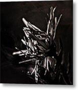 Dark Flower Metal Print