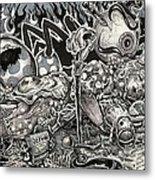 Dark Lullaby Metal Print