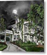 Dark Plantation House Metal Print