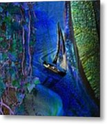 Dark River Metal Print