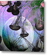 Dark Side Of The Moon 5d24939 Painterly P180 Metal Print by Wingsdomain Art and Photography