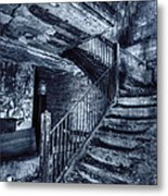 Dark Staircase Metal Print