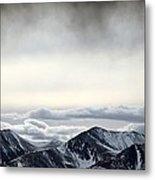 Dark Storm Cloud Mist  Metal Print