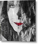 Dark Thoughts Metal Print
