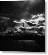 Darkest Before The Dawn Metal Print