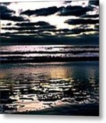 Darkness Can Only Be Scattered By Light Metal Print