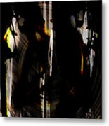 Darkness Comes To Us All Metal Print