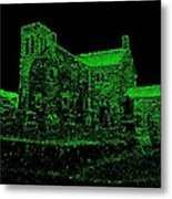 Darkness Green Metal Print