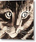Darling Cat Metal Print