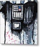 Darth Vader Metal Print by David Kraig