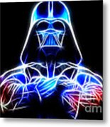 Darth Vader - The Force Be With You Metal Print