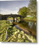 Dartmoor Bridge  Metal Print