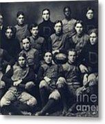 Dartmouth Football Team 1901 Metal Print by Edward Fielding